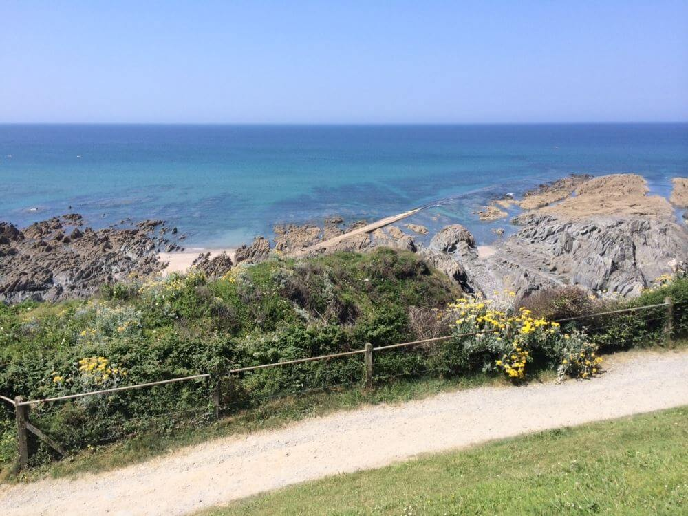 Rockham beach lies between Mortehoe and Ilfracombe on the North Devon.