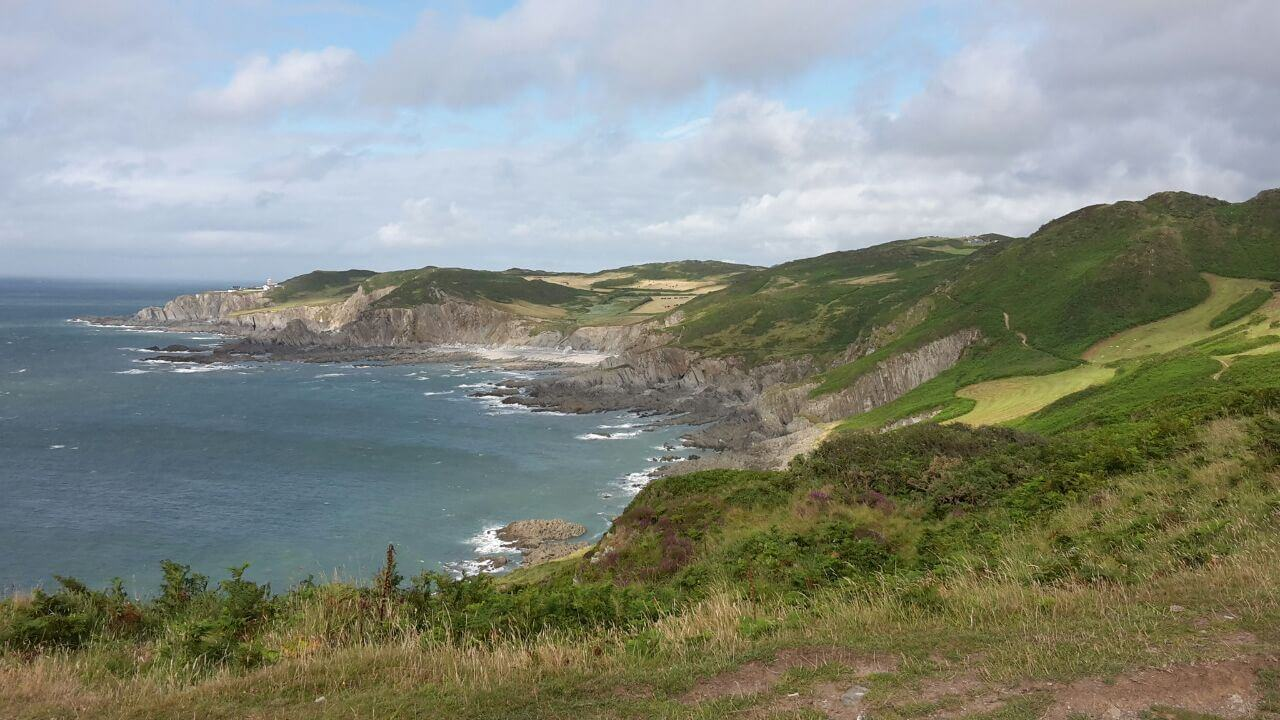 Morte Point is a peninsula on the North West coast of Devon, England. To the east is the village of Mortehoe and to the south is the seaside resort of Woolacombe