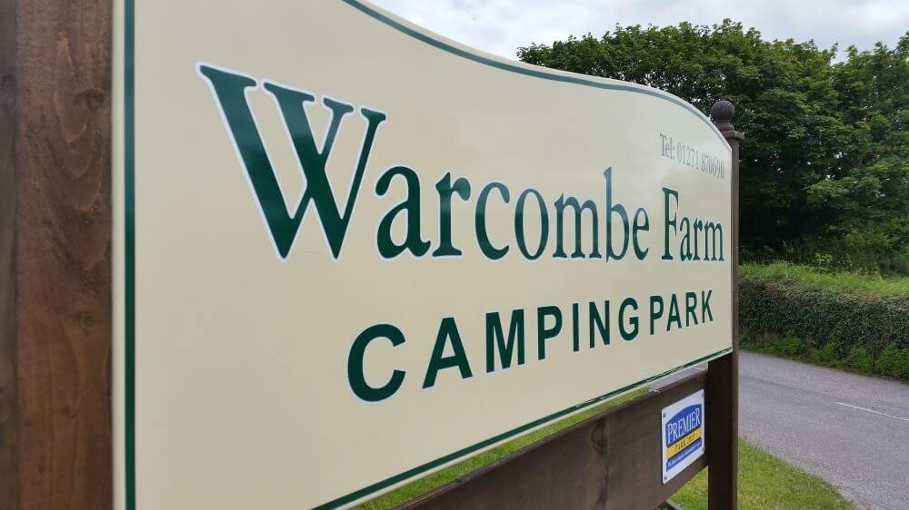 A Warm welcome awaits you at Warcombe Farm Campsite