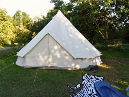 Secluded pitches to accommodate all types of campers